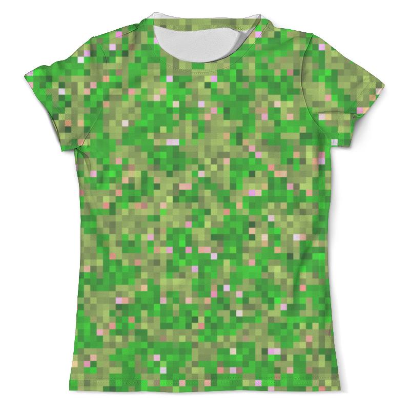 Футболка с полной запечаткой (мужская) Printio Мультицвет пиксельный камуфляж футболка с полной запечаткой мужская printio пиксельный разрыв я в порядке