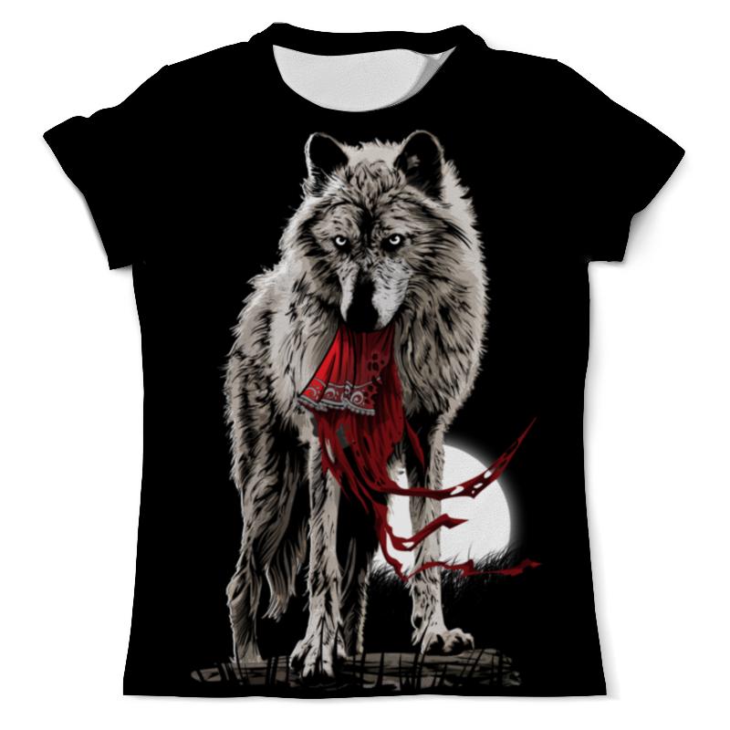 Футболка с полной запечаткой (мужская) Printio Серый волк футболка с полной запечаткой мужская printio морской волк