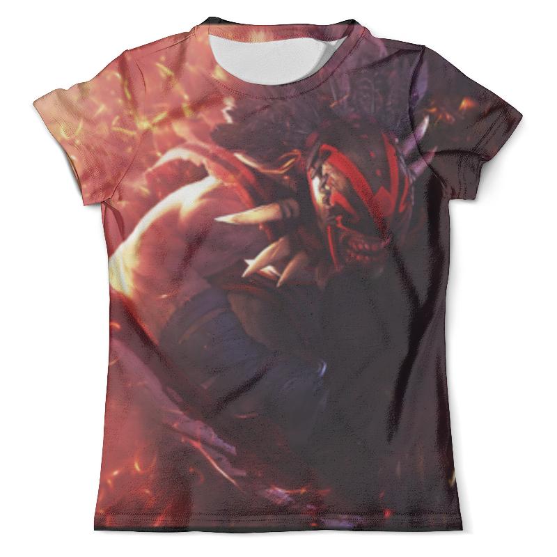 Футболка с полной запечаткой (мужская) Printio T-shirt bloodseeker футболка с полной запечаткой мужская printio dota2 huskar