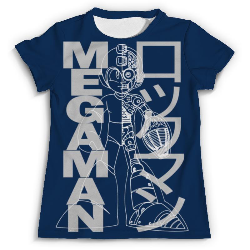 Футболка с полной запечаткой (мужская) Printio Mega man (rockman) крючок двойной tatkraft mega lock на вакуумном шурупе