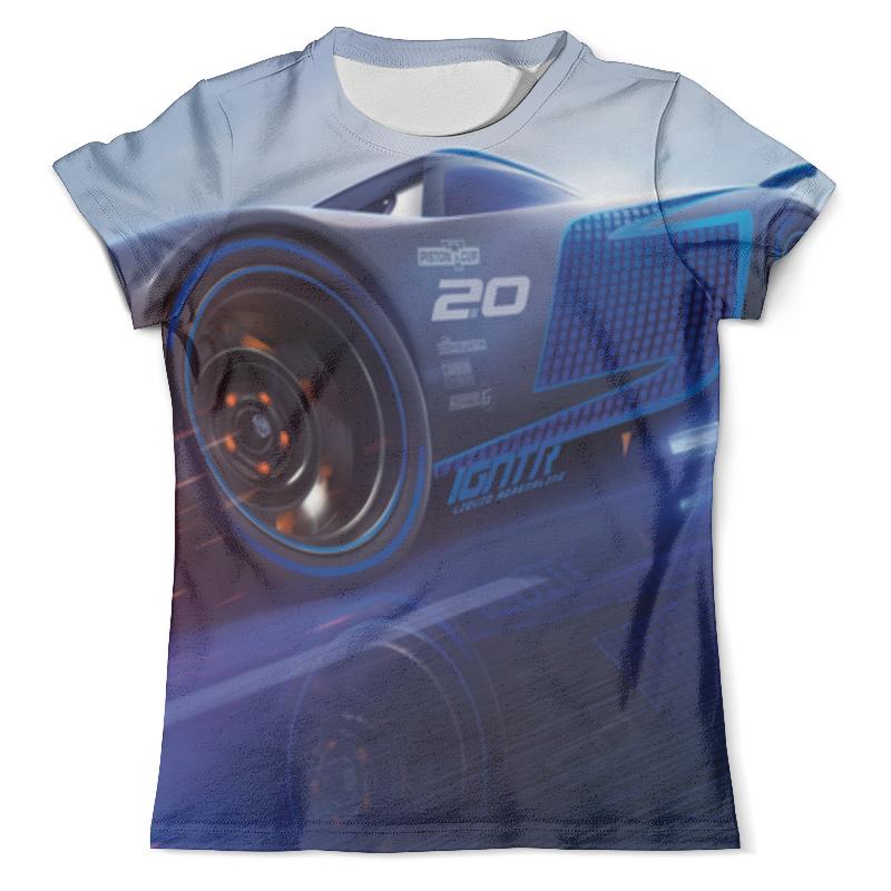 Футболка с полной запечаткой (мужская) Printio Тачки 3 футболка с полной запечаткой для девочек printio тачки 3