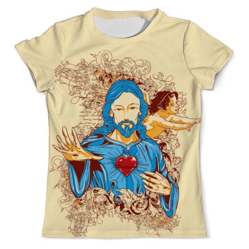 Printio Иисус футболка с полной запечаткой для мальчиков printio иисус христос