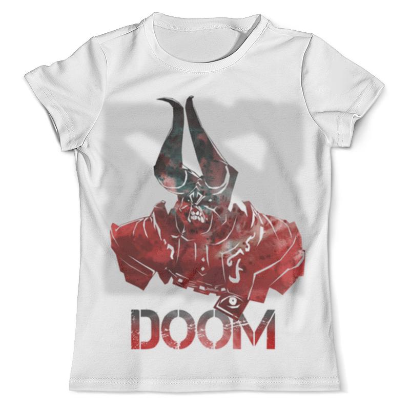 Футболка с полной запечаткой (мужская) Printio Doom dota 2 футболка с полной запечаткой мужская printio пудж мясник dota 2