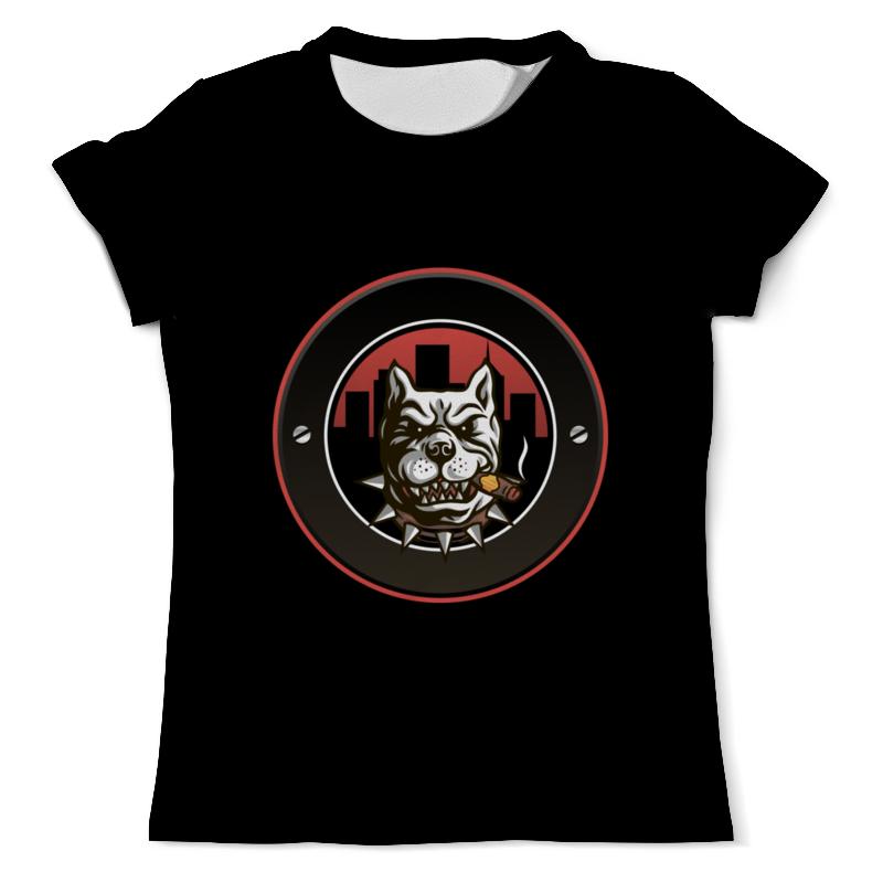 Printio Пёс с сигарой футболка с полной запечаткой мужская printio пёс оператор