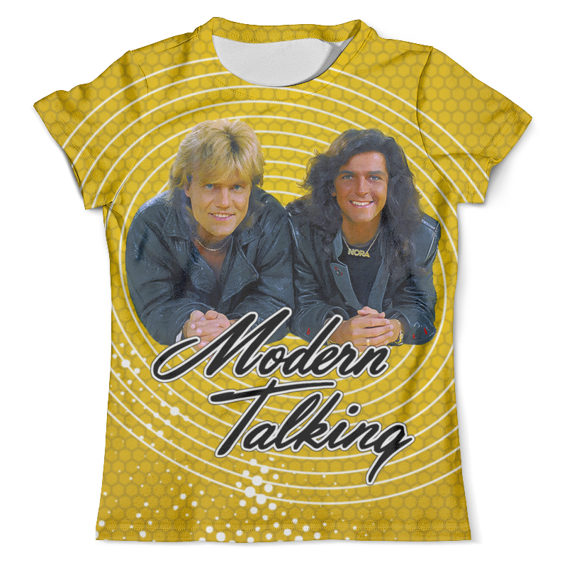 Футболка с полной запечаткой (мужская) Printio Modern talking modern talking modern talking alone