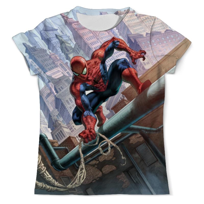 Футболка с полной запечаткой (мужская) Printio Spider-man футболка с полной запечаткой мужская printio сара керриган старкрафт
