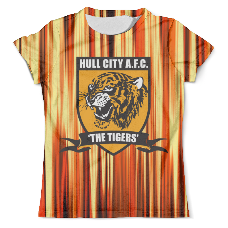 Футболка с полной запечаткой (мужская) Printio Tigers medicine hat tigers at edmonton oil kings