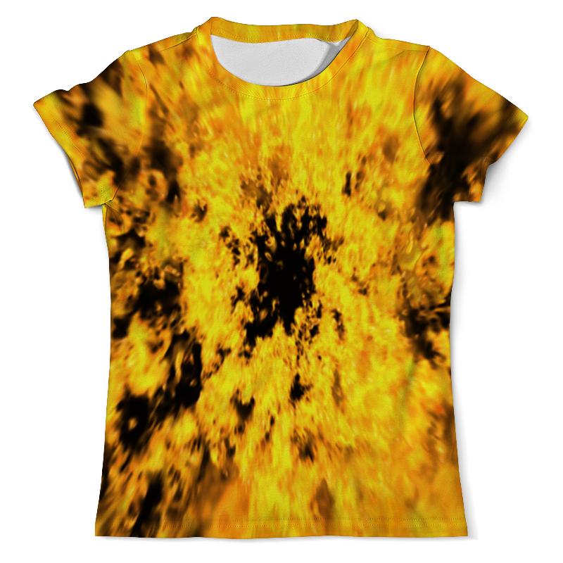 Футболка с полной запечаткой (мужская) Printio В огне футболка с полной запечаткой мужская printio в клетку