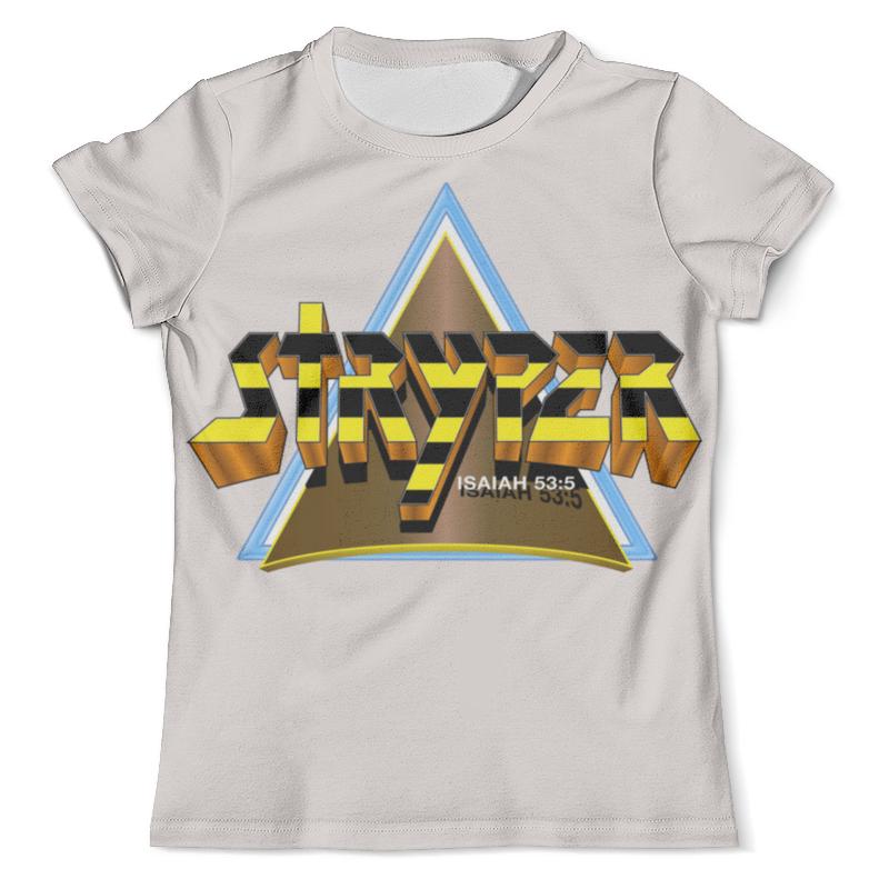 Футболка с полной запечаткой (мужская) Printio Stryper band футболка с полной запечаткой для мальчиков printio stryper band