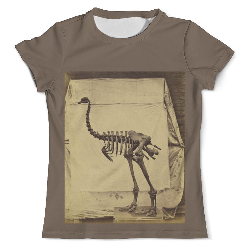 Printio Скелет динозавра шапка унисекс с полной запечаткой printio скелет динозавра