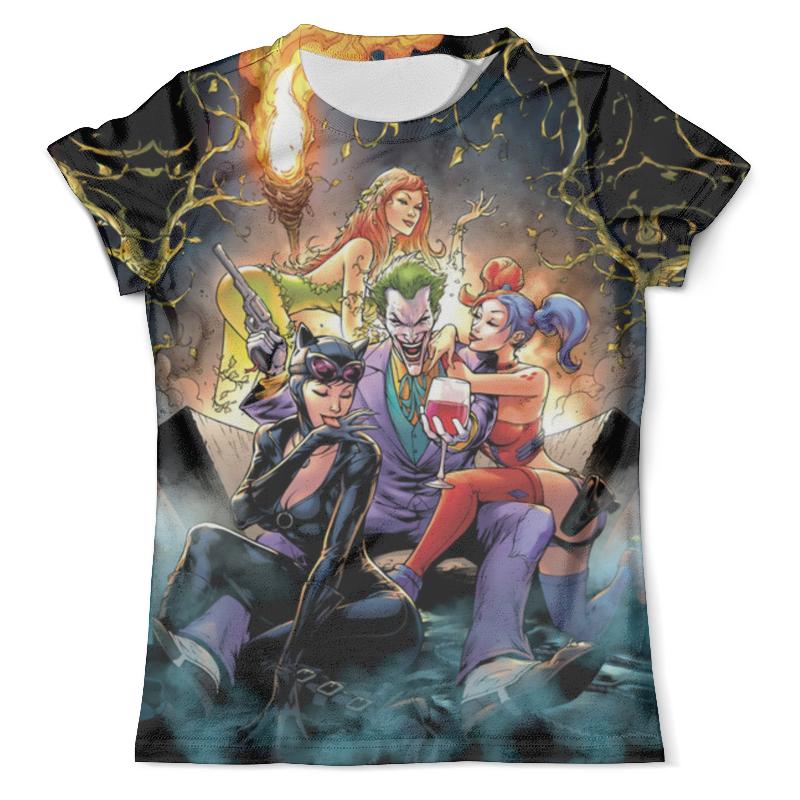 Футболка с полной запечаткой (мужская) Printio Gotham city's most wanted batman incorporated vol 2 gotham s most wanted the new 52