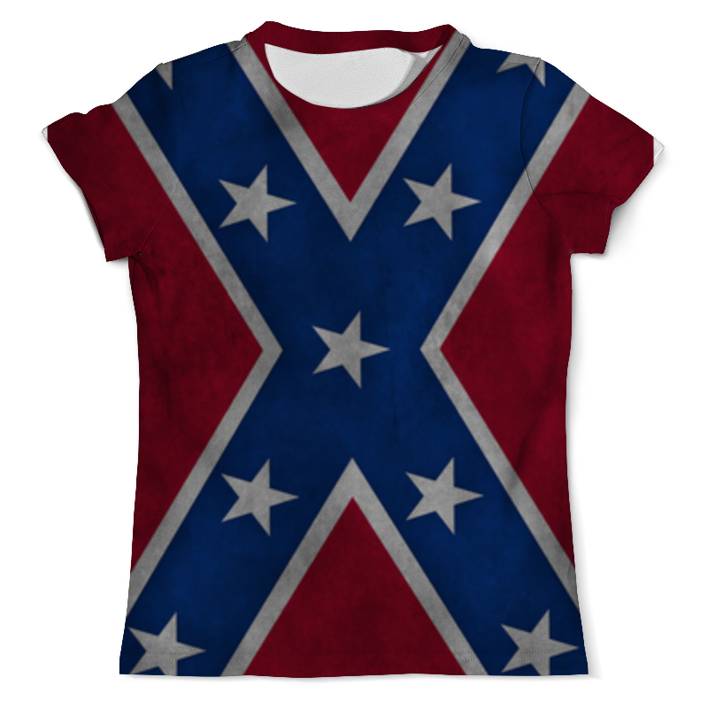 Printio Флаг конфедерации сша футболка с полной запечаткой мужская printio флаг британии