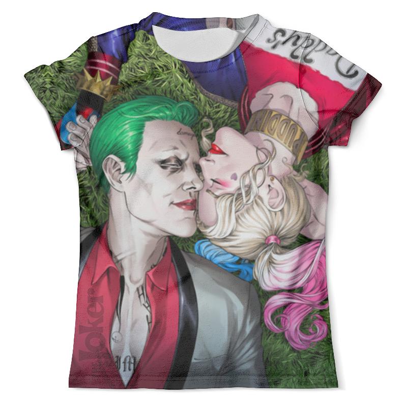 Фото - Футболка с полной запечаткой (мужская) Printio The joker&harley quinn design футболка с полной запечаткой мужская printio the joker design new