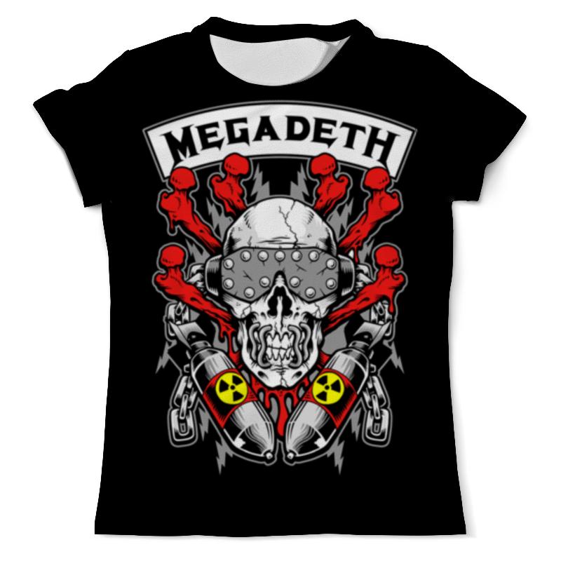купить Футболка с полной запечаткой (мужская) Printio Megadeth недорого