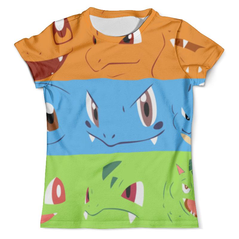 Футболка с полной запечаткой (мужская) Printio Покемон (pokemon) футболка с полной запечаткой мужская printio pokemon lapras