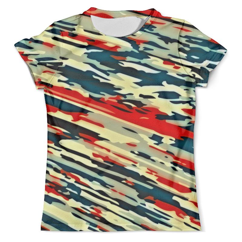 Футболка с полной запечаткой (мужская) Printio Камуфляж россия футболка с полной запечаткой мужская printio россия царская