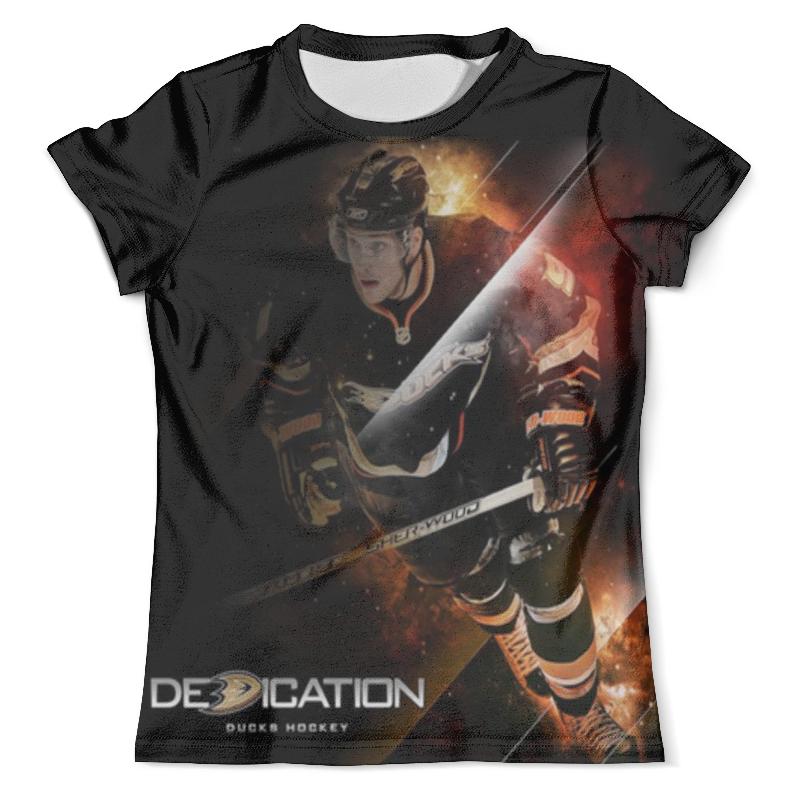 Футболка с полной запечаткой (мужская) Printio Хоккей / hockey мужская одежда для спорта