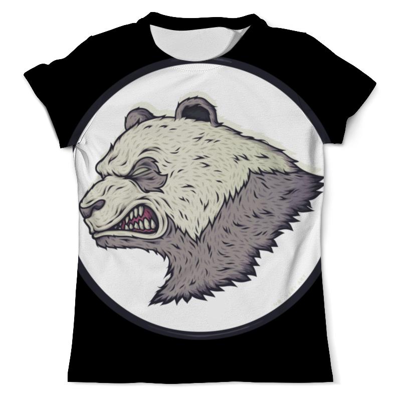 Футболка с полной запечаткой (мужская) Printio Angry panda / злая панда футболка с полной запечаткой мужская printio панда panda