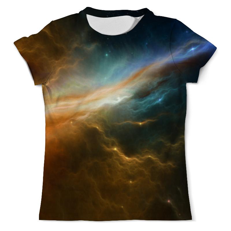 Футболка с полной запечаткой (мужская) Printio Космос футболка с полной запечаткой мужская printio туманность 1