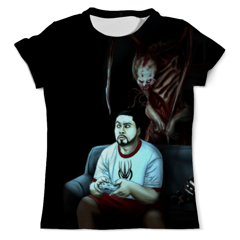 Футболка с полной запечаткой (мужская) Printio Мёртвый космос (dead space) футболка с полной запечаткой мужская printio космос space