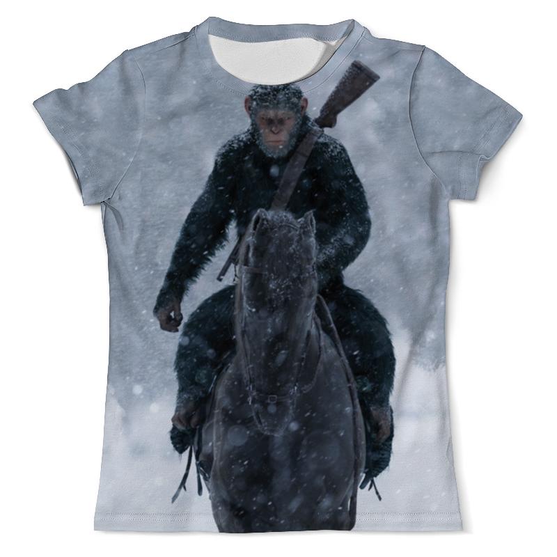Футболка с полной запечаткой (мужская) Printio Планета обезьян футболка стрэйч printio обезьяны не убивают планета обезьян