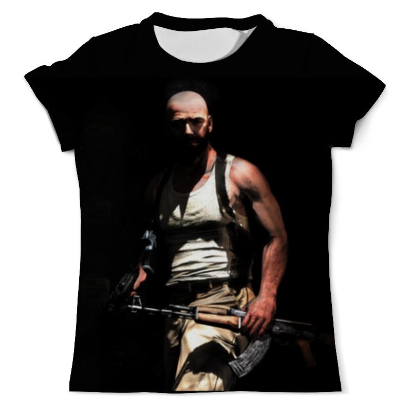 Printio Макс пейн футболка с полной запечаткой мужская printio дрова