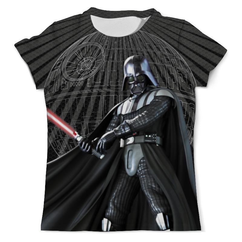 Футболка с полной запечаткой (мужская) Printio Star wars design (darth vader) футболка с полной запечаткой мужская printio darth vader design star wars