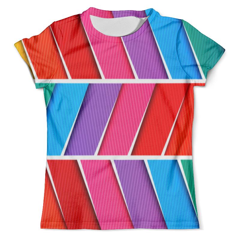 Футболка с полной запечаткой (мужская) Printio Абстрактные полосы футболка с полной запечаткой мужская printio нежные абстрактные цветы