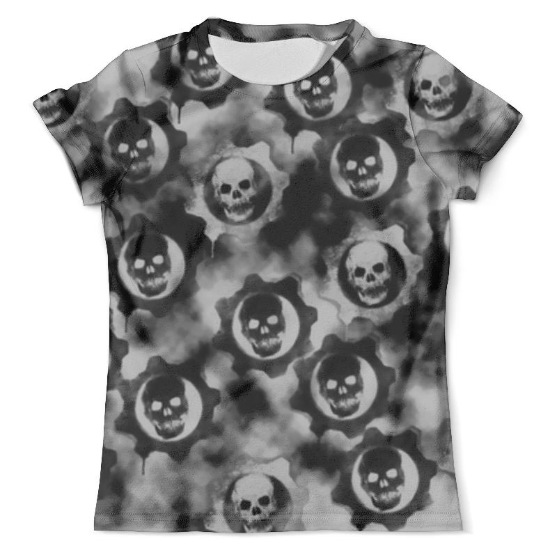 Футболка с полной запечаткой (мужская) Printio Gears of war футболка с полной запечаткой мужская printio war master