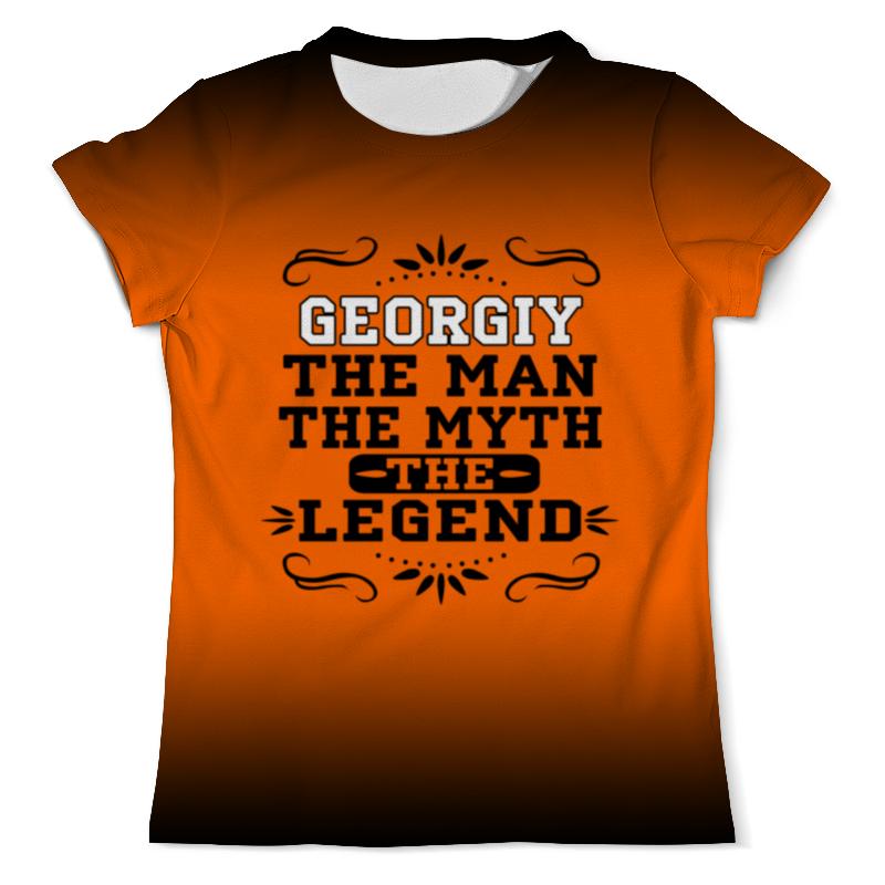 Футболка с полной запечаткой (мужская) Printio Георгий the legend футболка с полной запечаткой мужская printio георгий