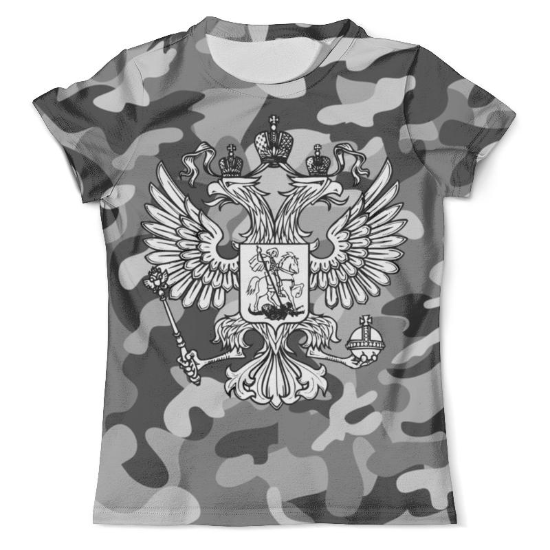 Футболка с полной запечаткой (мужская) Printio Россия (герб) футболка с полной запечаткой мужская printio россия царская