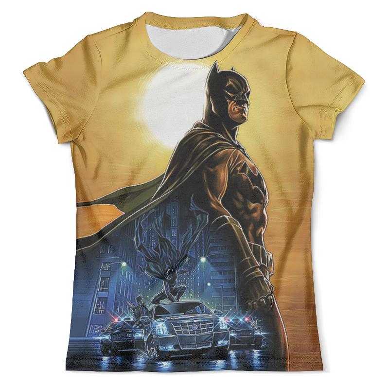 Футболка с полной запечаткой (мужская) Printio Batman design batman death by design