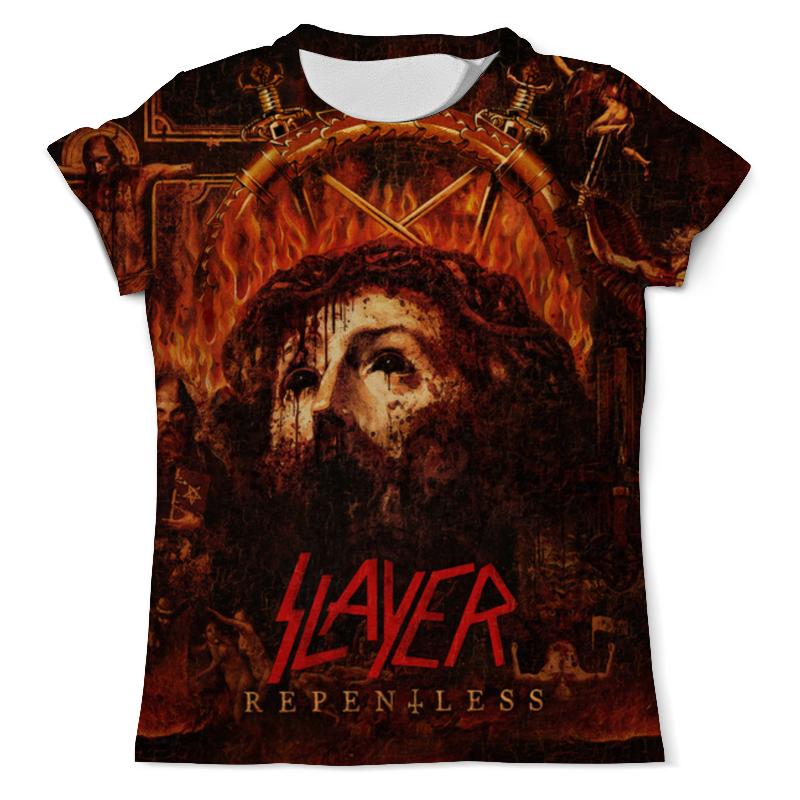 Футболка с полной запечаткой (мужская) Printio Slayer repentless 2015 (1) 1 2015