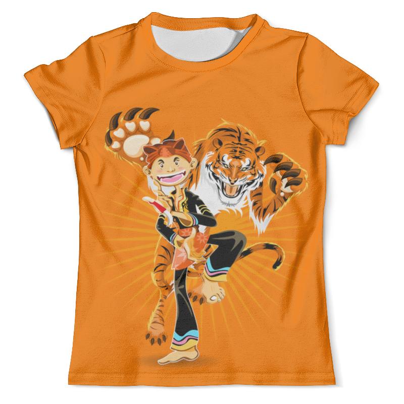 Футболка с полной запечаткой (мужская) Printio Тигр футболка с полной запечаткой мужская printio одноглазый тигр