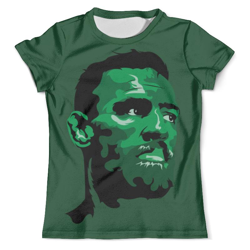 Футболка с полной запечаткой (мужская) Printio Conor mcgregor футболка с полной запечаткой мужская printio важнейшее из искусств винтаж
