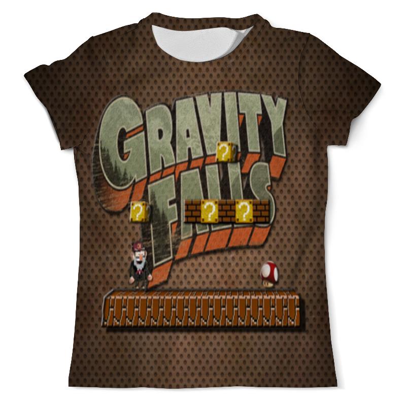 Футболка с полной запечаткой (мужская) Printio Gravity falls produino digital 3 axis acceleration of gravity tilt module iic spi transmission for arduino