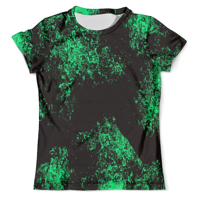 Футболка с полной запечаткой (мужская) Printio Зелёная краска футболка с полной запечаткой мужская printio черная краска