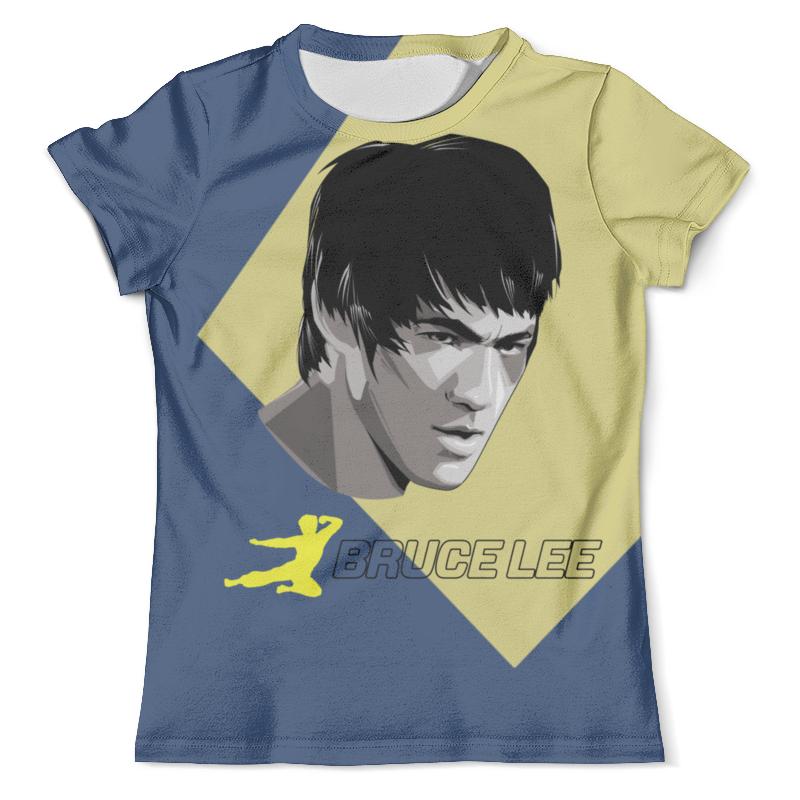Футболка с полной запечаткой (мужская) Printio Bruce lee футболка с полной запечаткой для девочек printio bruce willis