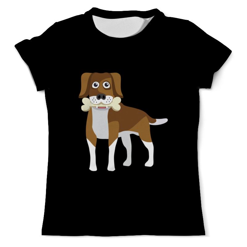 Футболка с полной запечаткой (мужская) Printio Пёс с косточкой кружка printio пёс с косточкой