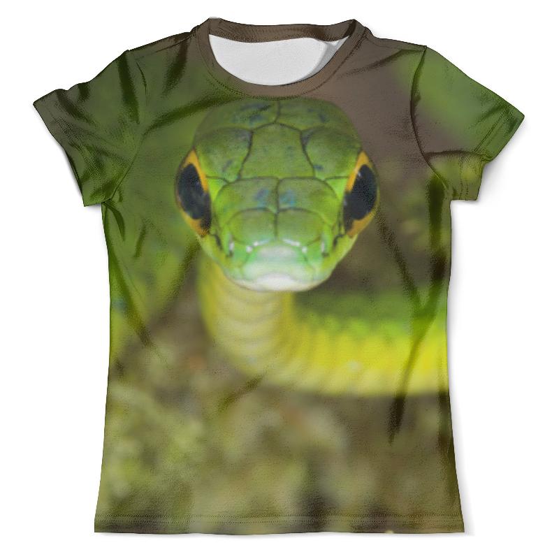 Футболка с полной запечаткой (мужская) Printio Ядовитая змея футболка с полной запечаткой мужская printio змея