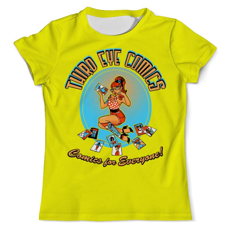Футболка с полной запечаткой (мужская) Printio Девушка футболка с полной запечаткой мужская printio девушка