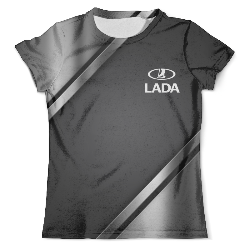 Футболка с полной запечаткой (мужская) Printio Авто lada