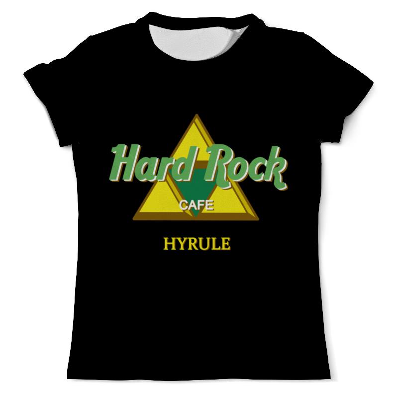 Printio Hard rock футболка с полной запечаткой для девочек printio hard rock