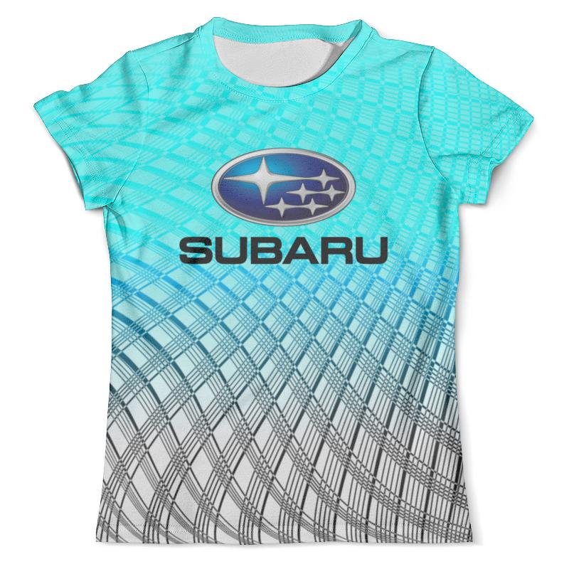 Футболка с полной запечаткой (мужская) Printio Subaru
