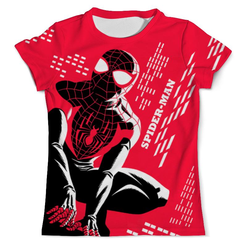 Футболка с полной запечаткой (мужская) Printio Spider-man design футболка с полной запечаткой мужская printio homecoming swing spider man