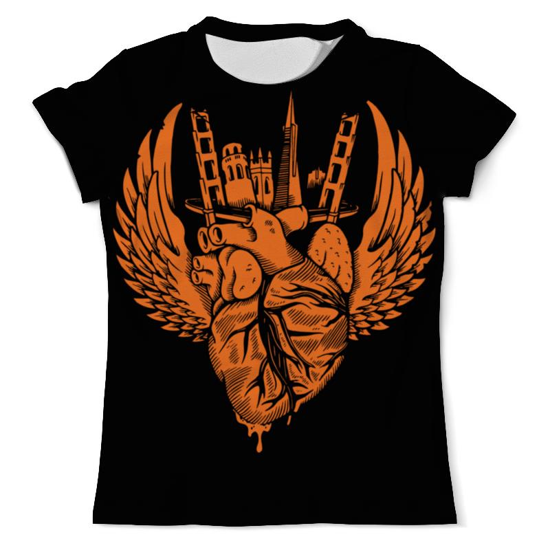 Printio Heart city / серде города футболка с полной запечаткой для мальчиков printio heart city серде города
