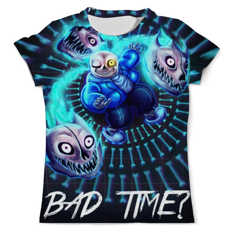Футболка с полной запечаткой (мужская) Printio Bad time футболка с полной запечаткой мужская printio old time batter