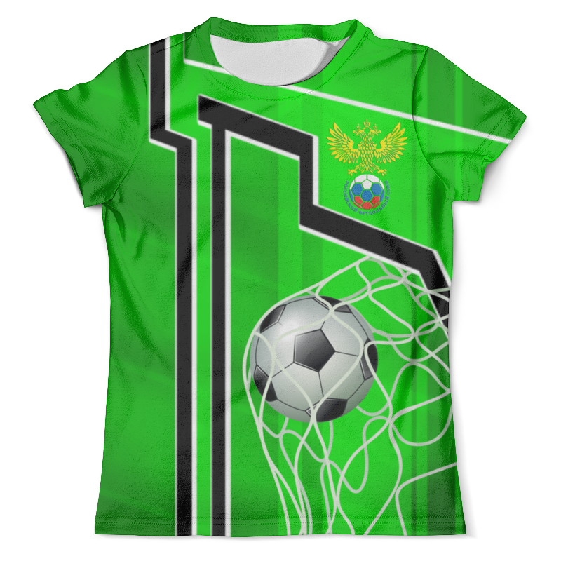 Футболка с полной запечаткой (мужская) Printio Soccer design