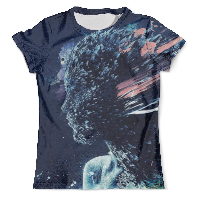 Футболка с полной запечаткой (мужская) Printio Девушка футболка с полной запечаткой мужская printio сара керриган старкрафт