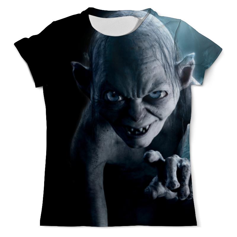 Printio Моя прелесть (властелин колец) футболка с полной запечаткой для девочек printio голлум властелин колец